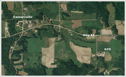 Aerial QGS Location Map